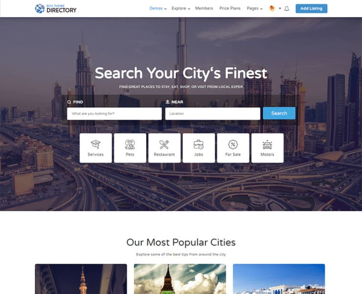 create-business-directory-listing-website